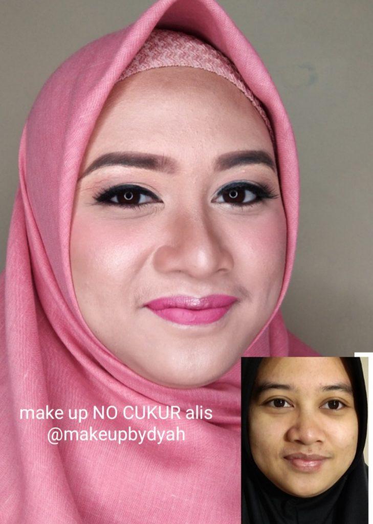 Make up tanpa cukur alis