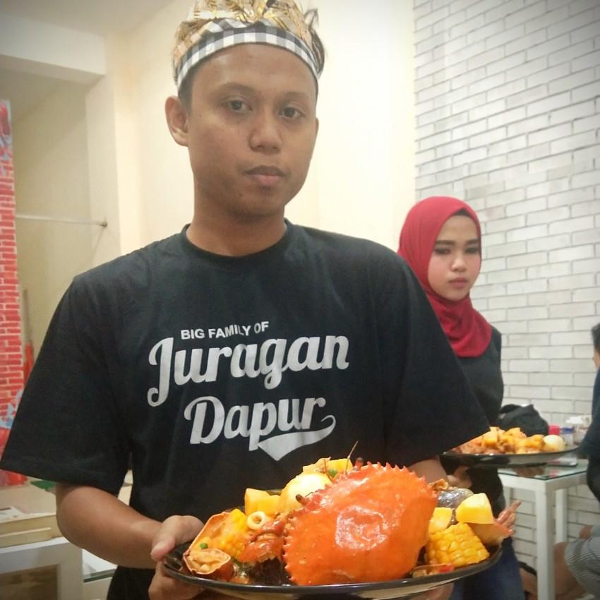 Kepiting Hambur Di Djoeragan Dapur Kota Malang