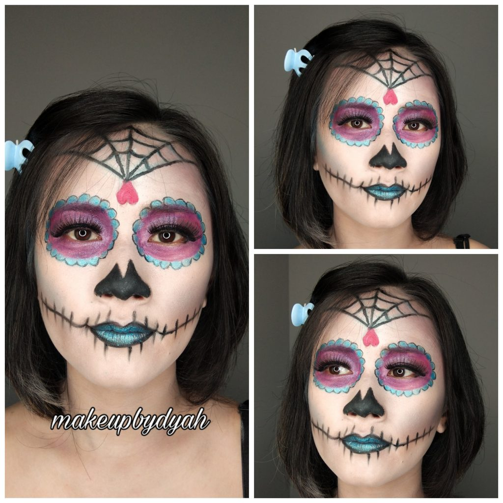 Make Up Sugar Skull di Hotel Ibis Styles Kota Malang