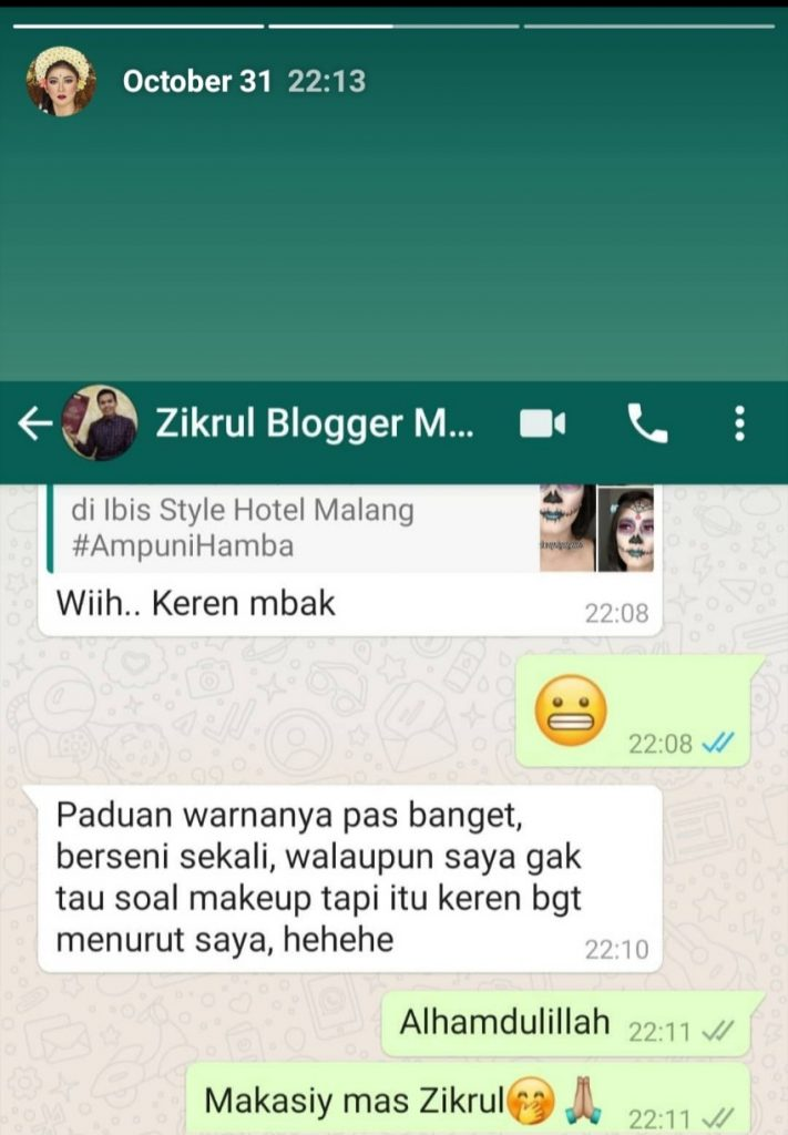 kursus Make Up karakter
