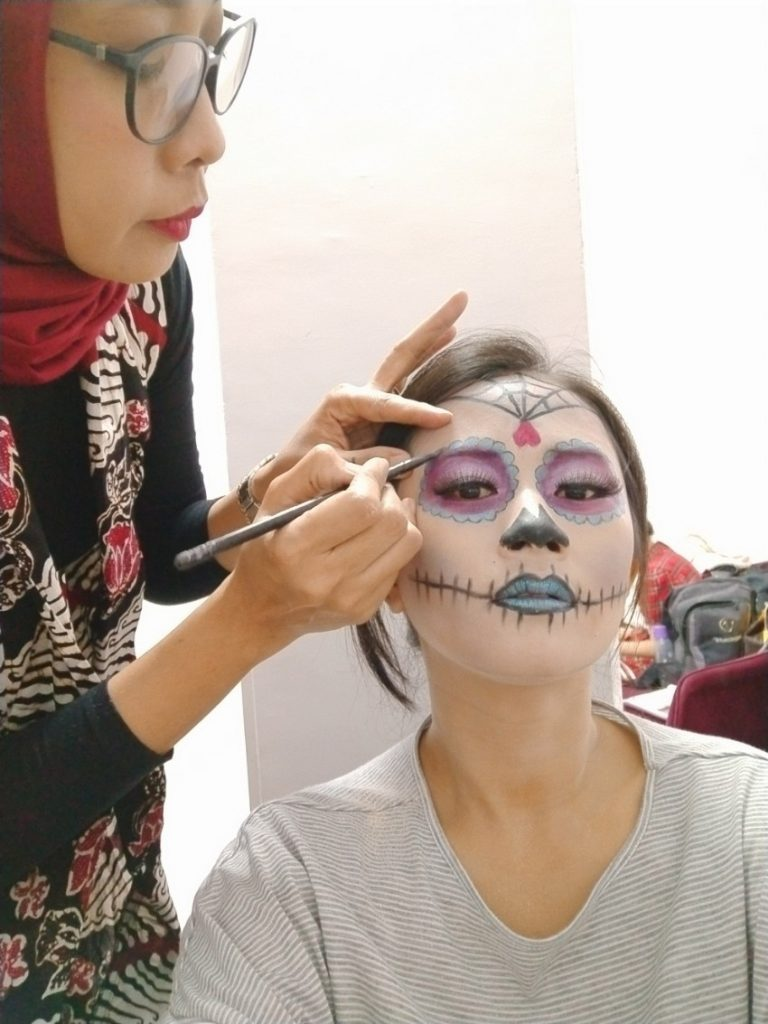 Make Up Sugar Skull