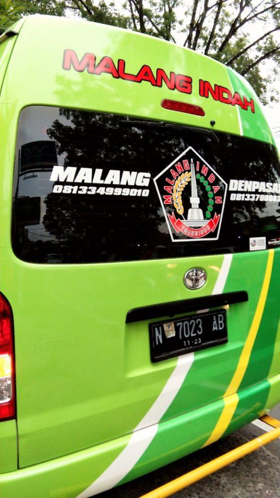 Malang Indah Travel denpasar