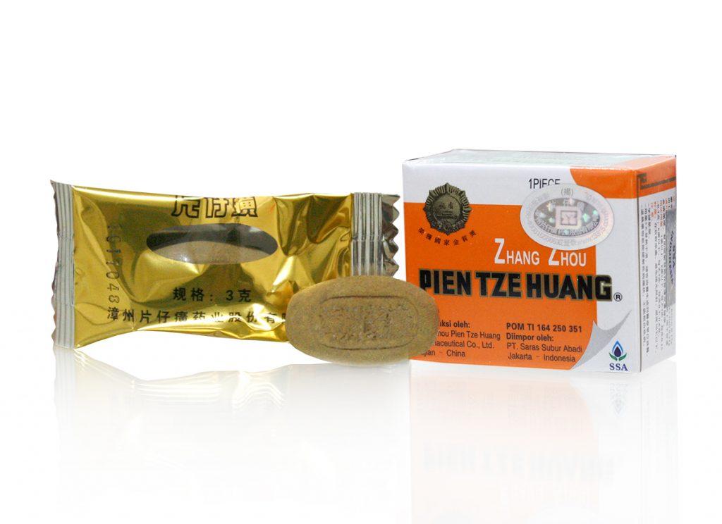 obat tipes alami pien tze huang