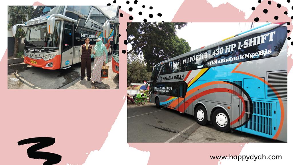 Bus Sleeper Double Decker Rosalia Indah