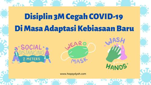 disiplin 3m cegah covid-19