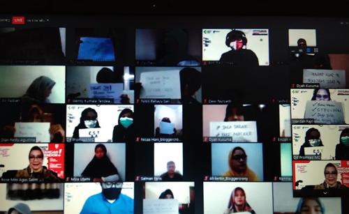 seminar online bersama blogger dit promkes