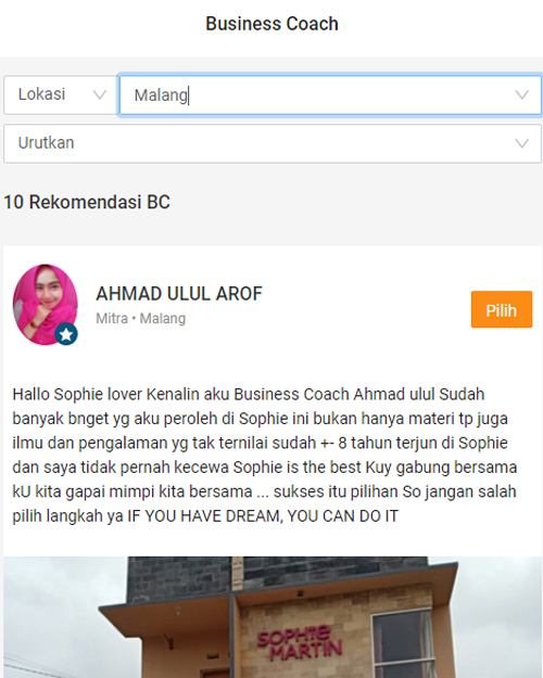 Business Coach Sistersel
