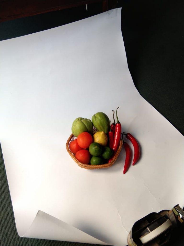 studio foto mini sederhana