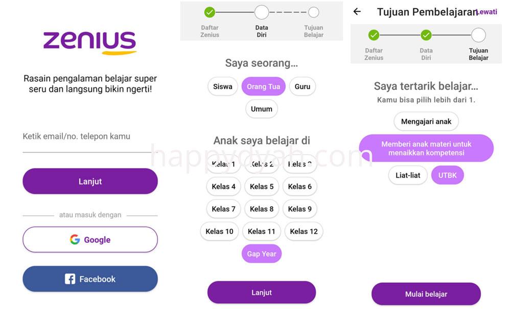 download aplikasi zenius dan mainkan ZenCore untuk meningkatkan kemampuan otak
