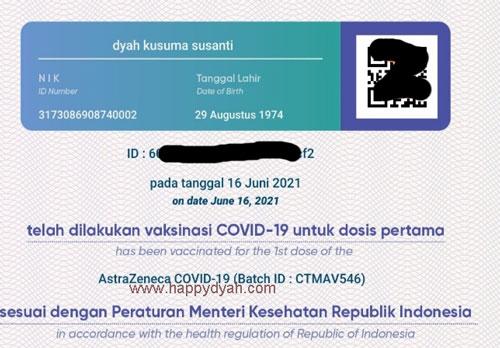 sertifikat vaksin covid-19