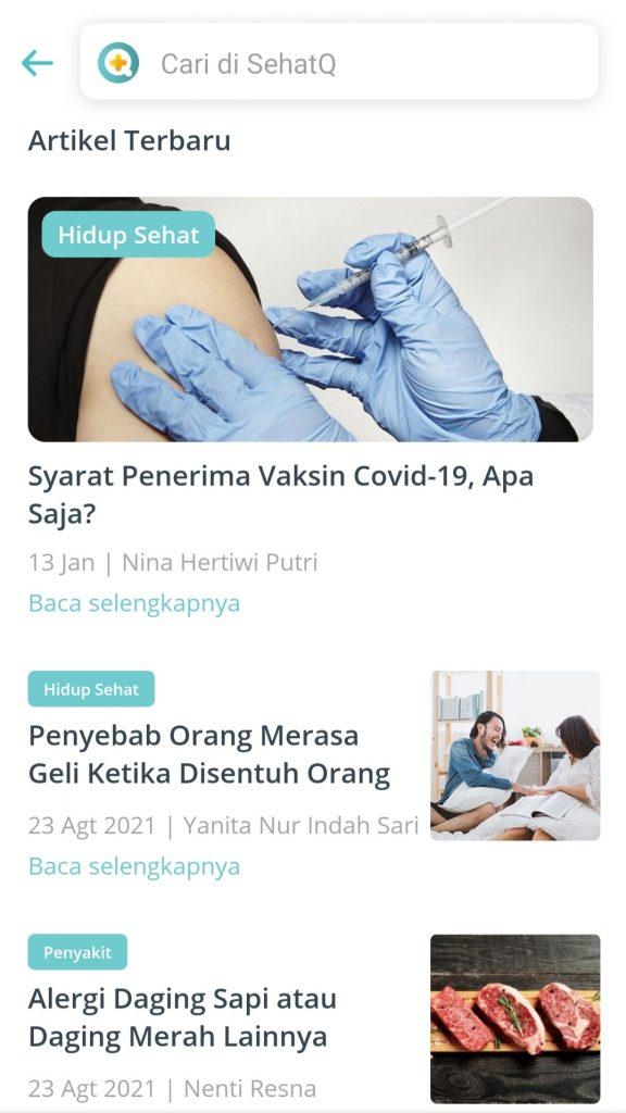 Artikel kesehatan