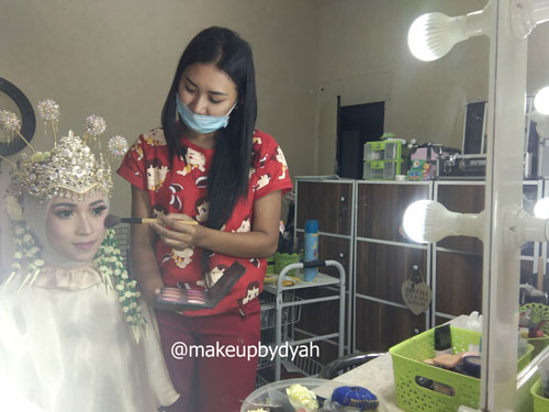 kursus make up ppengantin Sunda